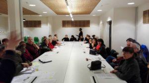 Lors de la réunion publique du 16/01/2017 du Conseil Citoyen Paris 18.