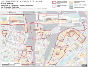 Utilisation de l'abattement TFPB dans les quartiers prioritaires du 18ème de la politique de la ville.