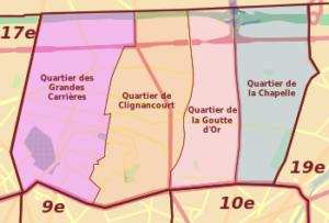 """Compte rendu de groupe de travail du conseil citoyen Paris 18 réunion du 10 Juillet 2017 : Groupe """"cadre de vie"""""""