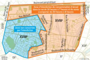 Retour sur l'arrêté anti-alcool étendu à la quasi-totalité de l'arrondissement depuis février 2018.