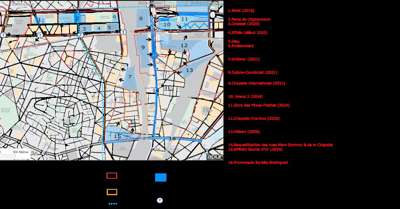 Comité de pilotage sur les projets de renouvellement urbain.