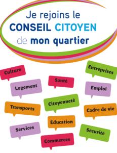 Les contributions du Conseil Citoyen Paris 18 reçues au sujet de l'évaluation à mi-parcours du contrat de ville.