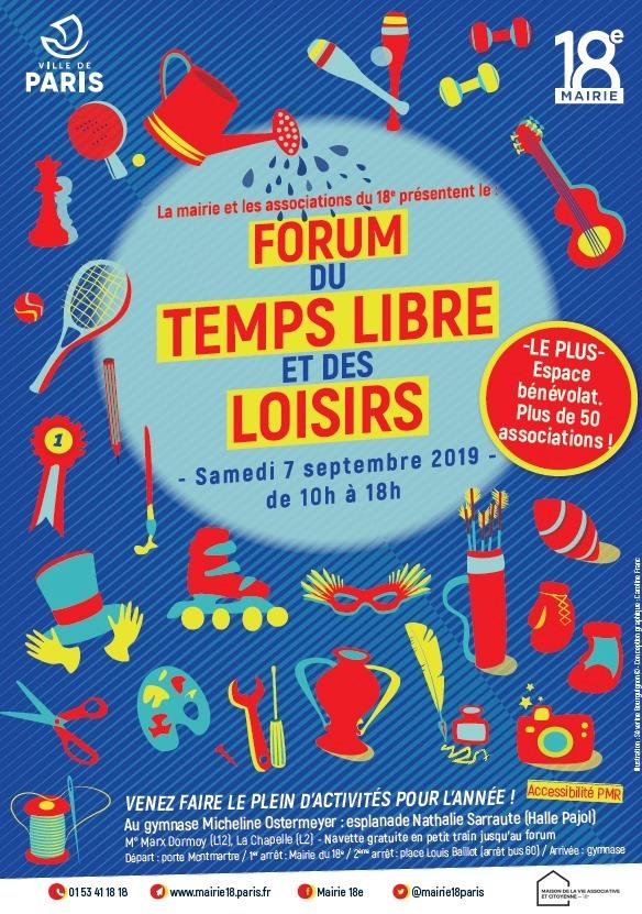 A la rencontre du Conseil Citoyen Paris 18, le Samedi 7 septembre 2019 de 10:30 à 18:00 Gymnase Ostermeyer