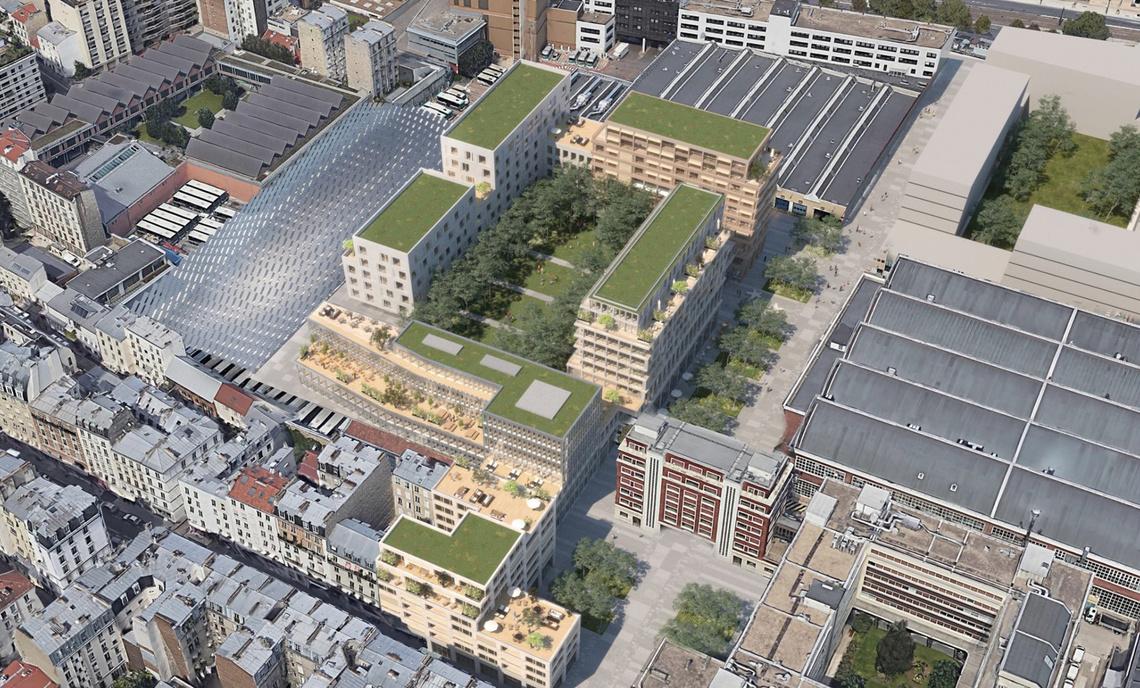 Belliard : le centre de bus transformé en projet urbain.