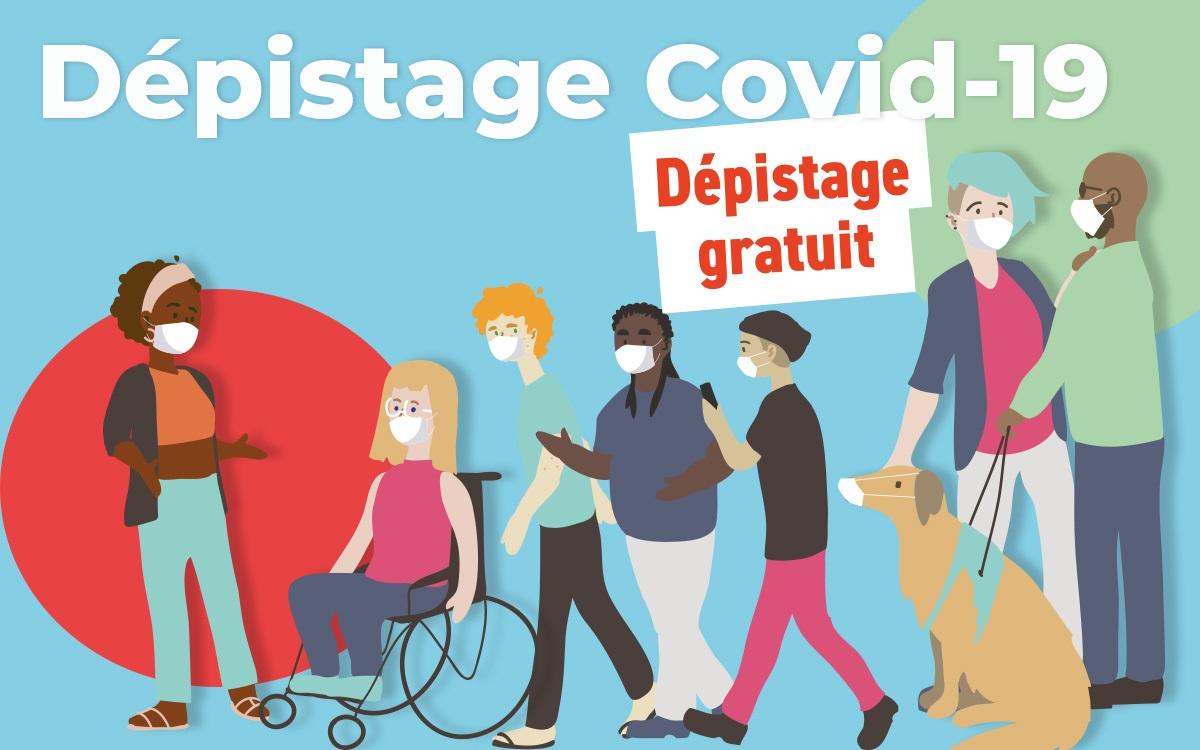 Dépistage COVID 19 gratuit le jeudi 4 juin au Square Marcel Sembat.
