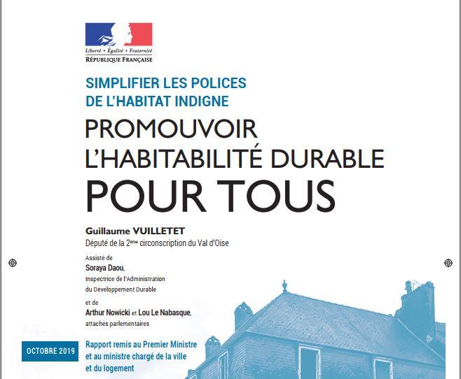 You are currently viewing Promouvoir l'habitabilité durable Pour tous – Rapport de 2019